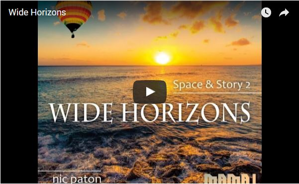 """Soaring"": drone footage with new album ""Wide Horizons""."