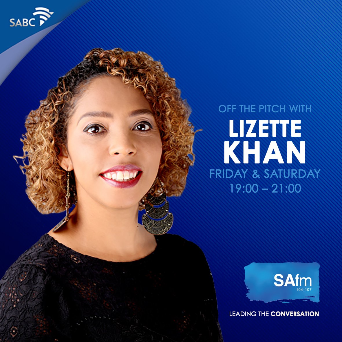 SAfm 104.6 interview with Lizette Khan
